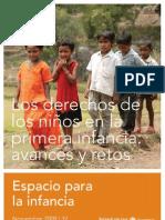 Los derechos de los niños en la primera infancia avances y retos 2009