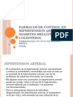 Farmacos de Control en Hipertension Arterial , Diabetes