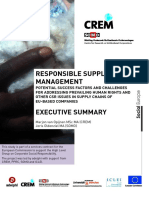 Responsible Supply Chain Management in European Countries