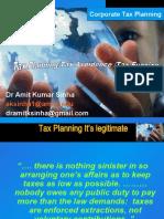 Tax Planning, Avoidance