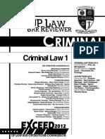 Criminal Law (Book 1) - UP 2012 reviewer.pdf
