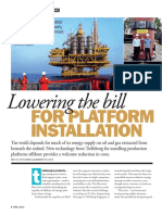 Lowering the Bill With Trelleborg Floatover Solutions