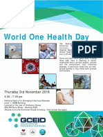 World One Health Day