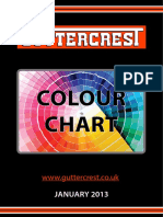 Guttercrest Colour Chart