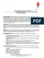 BTE IFR ~ O & M Manual + Shoe Seal~Feb11