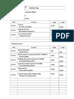 Final Exam Answer Sheet