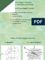 (4)Water Supply Network Arrangement
