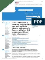 E27 - Métodos y Medios Disponibles Para El Análisis Físico