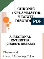 Chronic Inflammatory Bowel Disorders