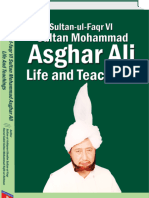 Sultan ul Faqr VI Sultan Mohammad Asghar Ali Life and Teachings