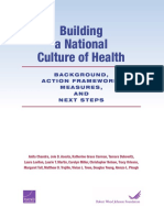 Culture of Health