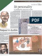 Mumbai Mirror - Split Personality