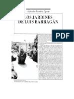 Los jardines del Pedregal, Alejandro Ramírez Ugarte
