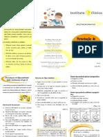 Perturbação de Hiperatividade / Défice de Atenção - Boletim Informativo