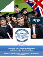 Bachelor Biochemistry Molecular Biology
