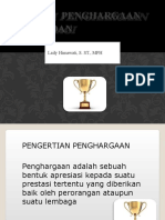 Sistem Penghargaan Bagi Bidan