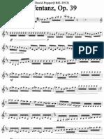 David Popper - Elfentanz (Dance of the Elves) Op. 39 (Cello)