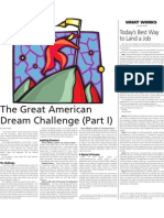 The Great American Dream Challenge (Part I)