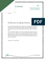 Huffman Coding Theory - Proposal
