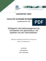 Strategisch informatiemanagement als voorwaarde voor goed bestuur