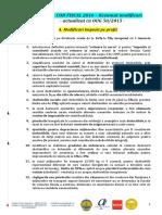 Rezumat Modificari NOUL Cod Fiscal Si NOUL Cod de Procedura 2016
