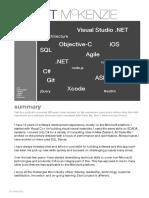 Resume_Super Expert IOS Developer