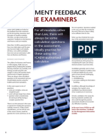 Vital Article e Assessment Feedback Law Business and Finance From the Examiners