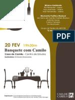 Cartaz Banquete Com Camilo