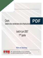 LITEP Gest Maint Infra Ferrov 04-06-2007 Partie 1