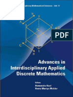 (Interdisciplinary Mathematical Sciences) Hemanshu Kaul-Advances in Interdisciplinary Applied Discrete Mathematics (Interdisciplinary Mathematical Sciences)  -World Scientific Publishing Company (2010.pdf