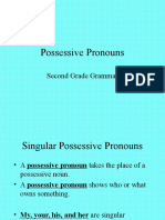 Possessive Pronouns