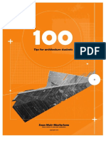 100 Tips for Architecture Students