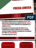 Poesia Loncca