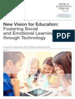 World Economic Forum - New Vision for Education