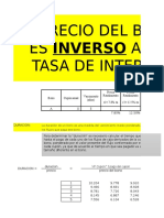 Mercados y Teorias - Duracion de Un Bono (Modificada y Convexa)