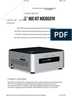 Nuc Kit Nuc6i5syh