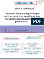 Lecture3 Broadcasting