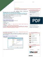 Tutorial Lengkap Membuat Aplikasi Parkir Kendaraan Menggunakan Java Netbeans Dan MySQL _ INDRA92