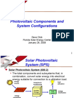 PV Components and System Configurations by Dave Click