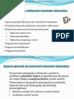PSI - Curs 9 Proiectarea Arhitecturii Pt Prezentare Curs