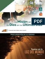 Lección 16 - La Misión Del Pueblo de Dios en Los Últimos Días