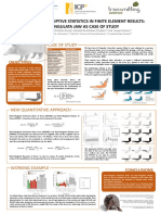 The role of descriptive statistics in Finite Element Results