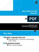 Information Literacy for EAP Students