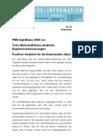 (20) FMO Bilanz 2009