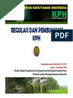 Regulasi Dan Pembiayaan KPH