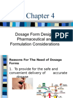 C-4 Dosage Form Design