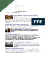 Jun 9 U.S. Africa Command Daily Media Update