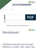 Aditi Chauhan Diversity Management