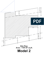 Model 2 Site Plan
