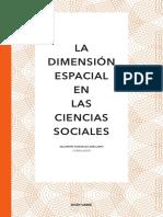 La dimensión espacial en las Ciencias Sociales